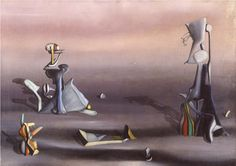 Yves Tanguy - 1940 - The silent witness Yves Tanguy, Grand Art, Peggy Guggenheim, Surrealism Painting, Paintings I Love, Oeuvre D'art, Accent Colors, Abstract Landscape, Les Oeuvres