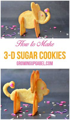 Need a fun cookie recipe for a special kid? Check out these amazing 3D sugar cookies! Special 3D cookie cutters help you create a one of a kind animal cookie using your favorite sugar cookie recipe!