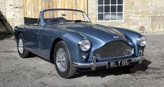 """1959 Aston Martin DB3 - """"The special love I have for you. My baby blue."""""""
