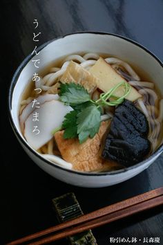 Japanese Udon Noodles うどん