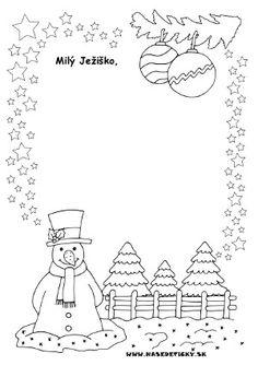 List Ježiškovi - Aktivity pre deti, pracovné listy, online testy a iné