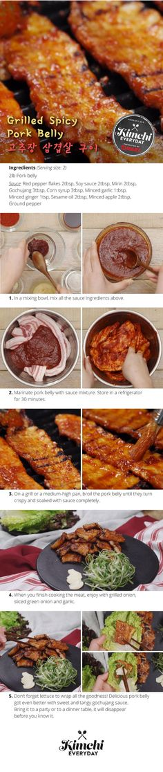 Hmart presents: How to make Spicy Grilled Pork Belly