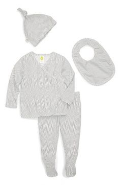 Stem Baby Organic Cotton Shirt, Pants, Hat & Bib (Baby)   Nordstrom