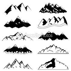 растровая графика горы - Поиск в Google