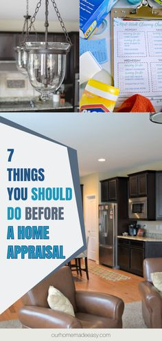 Home appraisals are important, whether you're hoping to sell, or just want to know where you stand financially. To get the best out of your home appraisal, there are a few things you can do to prepare! Here are 7 tips to help you get ready for an appraisal. Home Appraisal, Household Cleaning Tips, Easy Home Decor, Easy Diy Projects, Homemaking, Storage Solutions, Home And Living, Make It Simple, Homemade