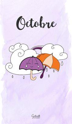 Hello Octobre 2020 - Gribouilli Street #gribouillistreet #doodle
