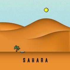 Africa - Sahara desert