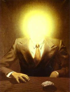 Magritte-The Pleasure Principle, Portrait of Edward James 1937