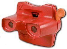 Red Classic Viewmaster 3D Viewer And Collector Reel, 2015 Amazon Top Rated Viewfinders #Toy