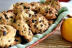 Triticale and Currant Scones Recipe ~ ( Triticale, is a hybrid of wheat and rye first bred in laboratories during the late 19th century. The grain was originally bred in Scotland and Sweden.)