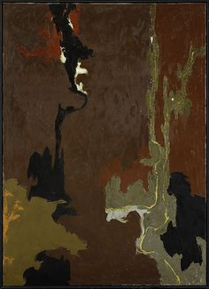 Untitled  Artist:Clyfford Still (American, 1904–1980) Date:1946 Medium:Oil on canvas Dimensions:62 × 44 5/8 in. (157.5 × 113.3 cm) Classification:Paintings