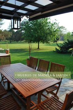 mesas y sillas para jardin