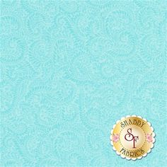 Liberty Garden 1705-84 Feathered Ferns Turquoise by Dover Hill for Benartex Fabrics: Liberty Garden is a fresh floral collection by Dover Hill for Benartex Fabrics.Width: 43