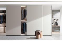 New Entry Wardrobe by CR&S Poliform for Poliform  Parede de cimento