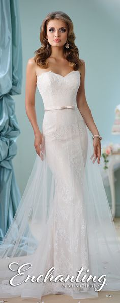 Enchanting by Mon Cheri Spring 2016 #wedding #coupon code nicesup123 gets 25% off at  Provestra.com