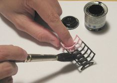 Learn to make dollhouse accessories from found objects with artist Gosia Suchodolska Haunted Dollhouse, Haunted Dolls, Dollhouse Miniatures, Dollhouse Ideas, Diy Dollhouse Furniture Easy, Miniature Kitchen, Miniature Crafts, Find Objects, Dollhouse Accessories
