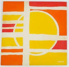 Marushka silkscreen print 1970s