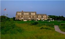 Nantucket, MA - The Wauwinet hugs the shores of Nantucket Bay, offering stunning, unobstructed views over the water. During a stay, guests enjoy complimentary access to water sports equipment, like standup paddleboards, sailboats and kayaks and can participate in free organized lobstering outings.