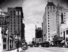 photo historic Hollywood Los Angeles The Pantages Theatre cool photo 765-30