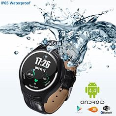 Indigi Stylish Wrist Watch 3G SmartPhone Android 44 WiFi HeartRate Monitor Google Play Store Weather Forecast GSM Unlocked >>> You can find more details by visiting the image link. (This is an affiliate link) #SmartWatches