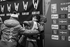 Kamil Stoch after a wom competition in Vikersund, Raw Air, 2017