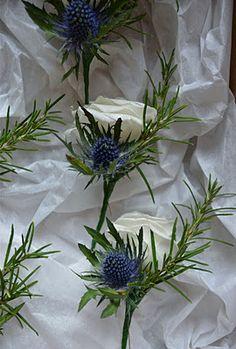 Wedding Flowers Blog: Pamela's Winter White Wedding Flowers, Tithe Barn