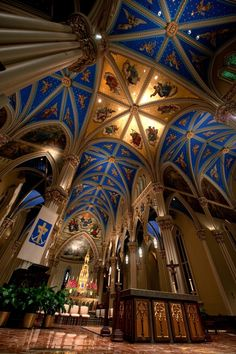 Basilica of the Sacred Heart at University of Notre Dame - South Bend, IN