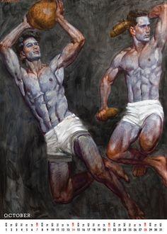 We make buying art more accessible. Graphic Design Illustration, Illustration Art, Male Body Art, Beard Art, Art Of Man, Guy Drawing, Gay Art, Gravure, Figure Painting