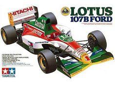 ... 20 F1 Scale Model Car Kit Team Lotus 107B Ford 1990 J.Herbert
