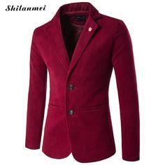Introducing,   Men Blazer Jacket...   http://www.zxeus.com/products/men-blazer-jackets-slim-fit-plus-size-5xl-leisure-suit-mens-overcoat-blazer-hombre-terno-masculino-black-red-blazer-for-men?utm_campaign=social_autopilot&utm_source=pin&utm_medium=pin