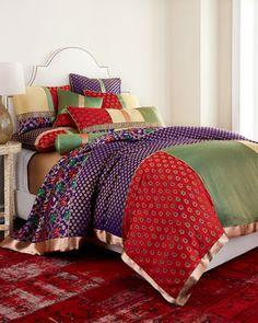 Zari Brocade Bedding at Neiman Marcus.