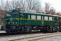 Locomotora eléctrica 289-015-0 (Ex 8915) (CAF y CENEMESA, bajo licencia Mitsubishi, España, 1969)  <br>Pieza IG: 05110