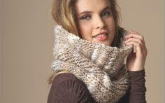L'hiver est là, vite on se tricote un snood bien chaud ! On choisit une belle…