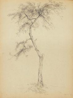 Fayga Ostrower Caderno de Desenhos 1944 Carvão sobre papel 23,0 x 34,0 cm