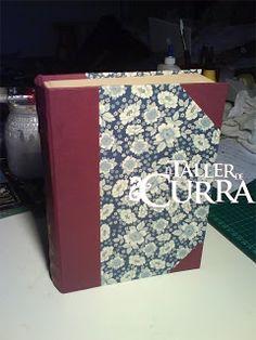 TUTORIAL----Manualidades paso a paso: Libro de Carton