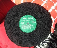 ah... how awesome is this???   crochet album. The Smiths by esthertoggle