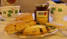 Flowers by Post Four Fruit Scones and Jam