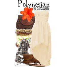 Polynesian Resort look from Disney Bound Character Inspired Outfits, Disney Inspired Outfits, Themed Outfits, Disney Outfits, Disney Style, Disney Fashion, Disney Clothes, Disney Dresses, Estilo Disney