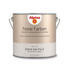 Alpina Feine Farben No. 03 – Poesie der Stille. #Design #DIY #Farbe #Einrichten…