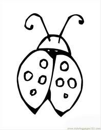 ladybug with strawberries animal coloring pages color plate
