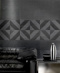 Low relief carved marble tiles from Q-bo.