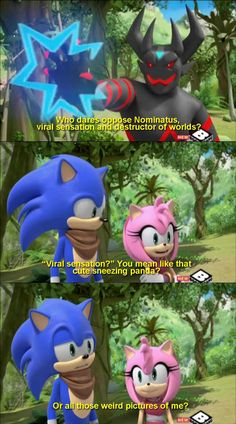See more 'Sonic Boom' images on Know Your Meme! Stupid Funny Memes, Funny Relatable Memes, Haha Funny, Hilarious, Manga Bl, Sonic Funny, Pokemon, Sonic Franchise, Funny Memes
