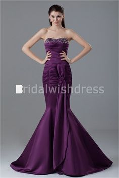 Mermaid/ Trumpet Sweetheart Hourglass Sleeveless Special Occasion Dresses