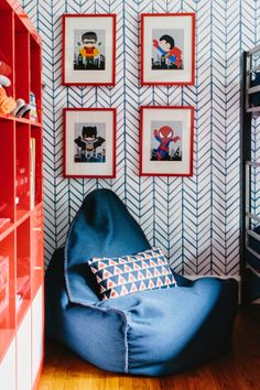 Colordrunk Designs Boys Room Jenna Buck Gross