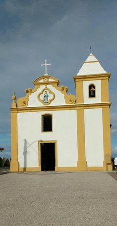 Igreja de Nossa Senhora D'Ajuda, Arraial D'Ajuda, Porto Seguro, BA