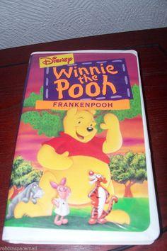 1995 Walt Disney Winnie the Pooh Frankenpooh VHS Movie Animated NR Children Disney Films, Walt Disney, Charlie Brown Valentine, Ebay Advertising, Vhs Movie, Selling On Ebay, Selling Online, Disney Winnie The Pooh, Childhood Memories
