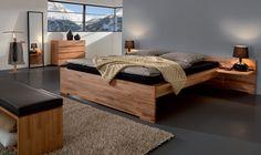 Hasena Woodline Setta - Storage/Platform Bed with Drawers - Head2Bed