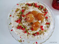 Τούρτα μαρέγκας με κρέμα κάστανου/Chestnut Meringue Cake | Cook And Feed