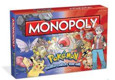 The legend of Zelda y Pokémon tendran su propio Monopoly este veranos. Visita nuestro blos http://boardgamescave.wordpress.com