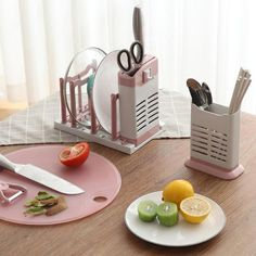 Multiuse Kitchen Organizer Knife Plate Storage Rack Holder Chopsticks Drainer Organizer Shelf – Top Daily Trends
